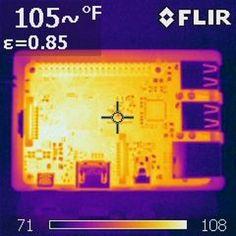 IR Heat Map _ Raspberry Pi B3 #RaspberryPi #IOT