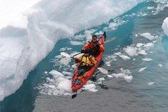 Jennifer Preraru kayaking in Antarctica courtesy of Aurora Expeditions  http://www.auroraexpeditions.com.au/expeditions/category/antarctica-cruises