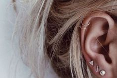 30 beautiful constellation and astronomy ear piercings, from cuffs to studs