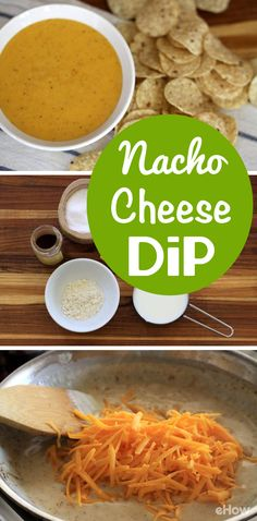 The easiest and hands-down best Nacho cheese recipe out there! You need to try this! http://www.ehow.com/how_4934283_make-homemade-nacho-cheese-dip.html?utm_source=pinterest.com&utm_medium=referral&utm_content=freestyle&utm_campaign=fanpage