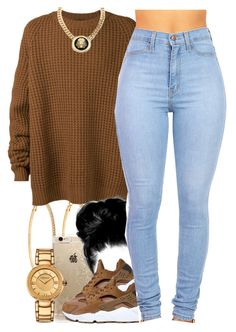 """""""December 12, 2k15"""" by xo-beauty ❤ liked on Polyvore featuring Roberta Chiarella, Rifle Paper Co, NIKE, Haider Ackermann, Roial, Versace, women's clothing, women's fashion, women and female"""