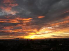 Soak in this STUNNING #sunset in #Cameroon. What's the best sunset you've ever seen?