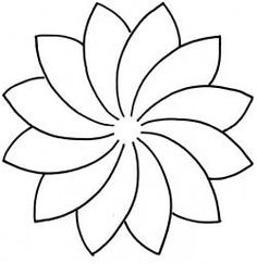 Flower Template For ChildrenS Activities  Activity Shelter