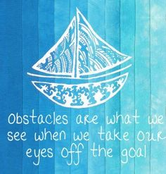 Make it your goal to send your obstacles sailing!