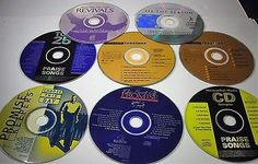 Lot of 8 Christian Music CDs Praise Songs Marantha Promise Keepers
