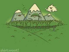 w00t shirt: Naturestache