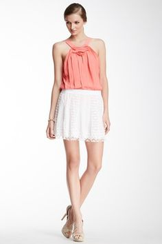 Gored Lace Skirt