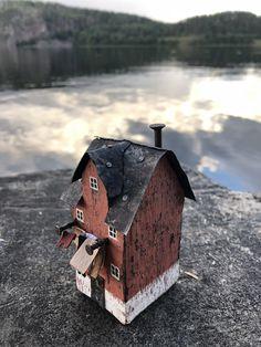 Miniature Houses, Wood Projects, Miniatures, Bird, Outdoor Decor, Home Decor, Little Cottages, Decoration Home, Room Decor