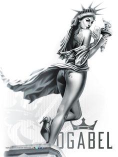 OGABEL.COM - Libertease Poster, $9.95 (http://www.shopogabel.com/libertease-poster/)