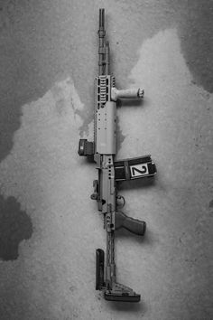 Norinco M305 in Sage EBR Chassis. - (source) | Weapons Lover