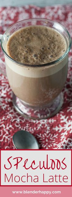 Speculoos cookie butter, chocolate, milk and espresso come together to make this indulgent Speculoos Mocha Latte. It is a perfect way to start your weekend or to cap off your day.