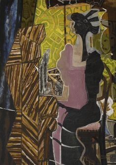 Georges Braque 1882 - 1963 LA PIANISTE Signed G Braque and dated 37 (lower right) Oil and sand on canvas 57 by 40 in. 145 by cm Painted in Sotheby´s Georges Braque, Impressionism Art, Impressionist, Picasso, Modern Art, Contemporary Art, Fauvism, Art Moderne, Art History