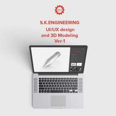 """Check out my @Behance project: """"S.K.Engineering UI/UX Design and 3D Modeling…"""