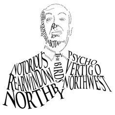 Hitchcock caligrama