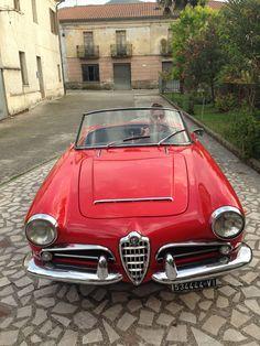 @Alfa Romeo Giulia Spider del 1962
