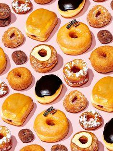 Credits: Bobby Doherty Donuts for New York Magazine Bregje Heinen for Vogue Japan December. Food Design, Design Set, Pinterest Instagram, Food Patterns, Minimalist Photography, Food Illustrations, Food Styling, Bobby, Food Photography