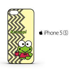 keroppi vertical zigzag C0365 iPhone 5   5S   SE Case