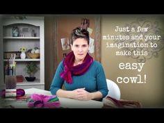 Premier Yarns Chunky V Stitch Infinity Scarf ( Crochet Tutorial) Pattern #525 (Free Pattern) - YouTube