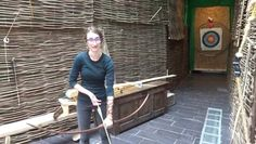 Short clip of Cleo's lesson with Experience Medieval Archery in Waterford.
