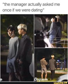 You know the friendships real when people think you're gay. Taemin and Kai