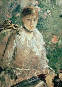 Berthe Morisot - Portrait of a Young Lady