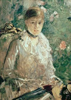 Berthe Morisot - Portrait of a Young Lady