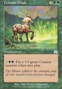 Centaur Glade (Onslaught) - Gatherer - Magic: The Gathering