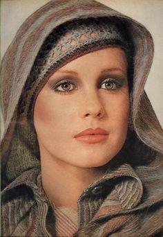 Photo- Irving Penn  Model Rosie Vela  Hair Harry King  Makeup Sandy Linter