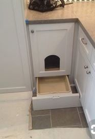 """Awesome """"laundry room storage diy shelves"""" information is available on our site. Check it out and you wont be sorry you did. Hidden Laundry Rooms, Laundry Room Doors, Laundry Room Storage, Laundry Room Design, Kitchen Storage, Kitchen Design, Hiding Cat Litter Box, Hidden Litter Boxes, Diy Litter Box"""