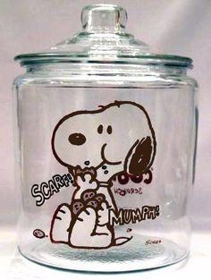 Snoopy cookie jar