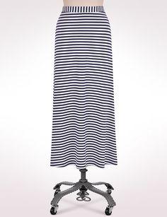 Petites | Petite Striped Maxi Skirt | dressbarn