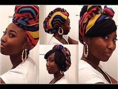 Go 2 Style LookBook: Rock'n A Turban/Headwrap/Scarf with Braids. Cute styles. Cute scarf