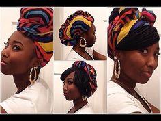 Go 2 Style LookBook: Rock'n A Turban/Headwrap/Scarf with Braids. Cute styles. Cute scarf