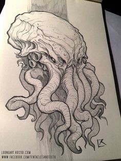 Tentacles and Teeth <3craft #cthulhu