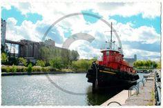 Carte postale de Montréal, Canal de Lachine | Christie Cartes $2 christiecartes.com