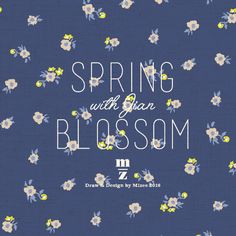 mizeedraw / since 2016 / spring / blossom / flower / pattern