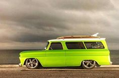 66 Chevy Suburban..