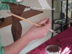 Easy Sculpting with Paverpol, the #1 Textile and Fibre hardener. Check out more videos on www.paverpol.ca