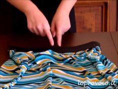 DIY Maxi Skirt - Come fare una gonna lunga - YouTube