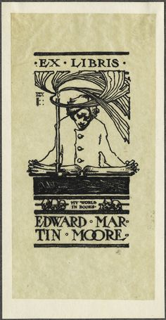 The Bookplate Collection: Second Half - 50 Watts  Design by Harry Townsend