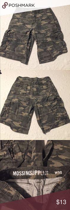 Mossimo Supply Co. Shorts Camo shorts, barely worn. Great condition Mossimo Supply Co Shorts Cargo