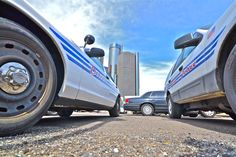 Ford Crown Victoria Police Cars, Detroit