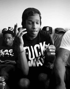 • Black and White fashion music hip hop rap dope follow follow me Black & White new york gold hip-hop hiphop asap rocky a$ap rocky a$ap mob a$ap east coast rocky ASAP ASAP MOB bnw B n W hood by air HBA fivefingersofdeath •