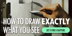 Learn to draw and sketch with these easy drawing tips. Read step-by-step instructions (with pictures) explaining how to draw what you see. If you want to be able to draw realistically, these 12 drawing techniques will help improve your drawing skills. Painting Videos, Painting Lessons, Painting Tips, Art Lessons, Drawing Skills, Drawing Techniques, Drawing Tips, Figure Drawing, Realistic Drawings