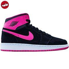 Nike Damen Air Jordan 1 Retro High GG Laufschuhe, Schwarz / Rosa / Weiß / Pink (Schwarz / Vivid Rosa-Weiß-Vvd Knp), 41 EU - Nike schuhe (*Partner-Link)