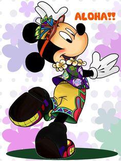 Hawaiian mickey by chico-110.deviantart.com