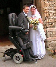 The amazing advances in assistive technology... standing wheelchairs :)