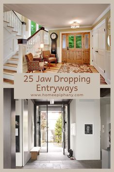 These 25 jaw dropping entryways show that no spot in your house should be left neglected. Rustic Wall Art, Diy Wall Art, Diy Wall Decor, Diy Home Decor, Spice Storage, Diy Kitchen Storage, Creative Wall Decor, Creative Walls, Roll Out Shelves