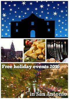 Free holiday events in San Antonio 2016