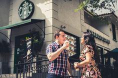 Pre-Wedding Juliana e José Eduardo #starbucks
